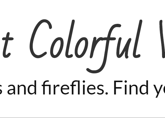www.brightcolorfulworld.com